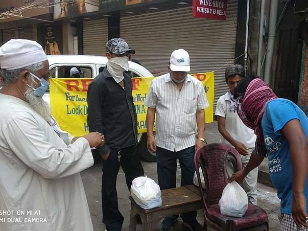 Provide Relief To unorganized Workers And Homeless During COVID-19