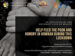 Help Feed The Poor And Hungry In Howrah During This Lockdown
