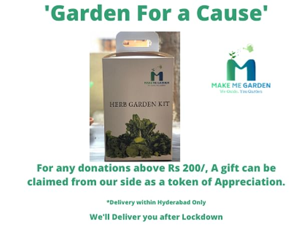 'Garden for a Cause' - COVID 19 Hunger Relief and Medical Support