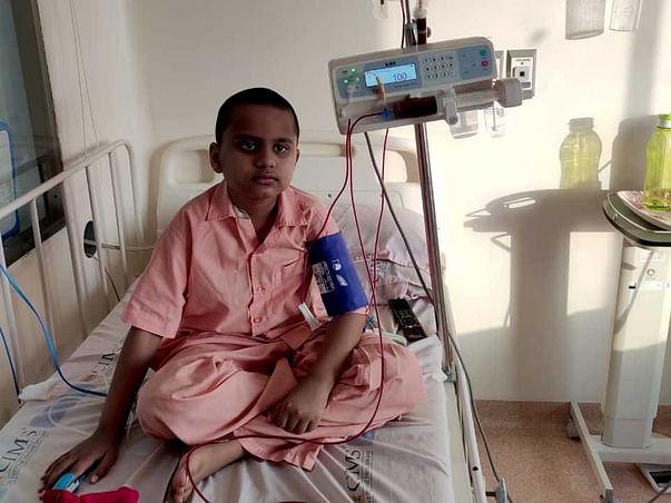 Help Naman Dhirwani Fight Thalassemia
