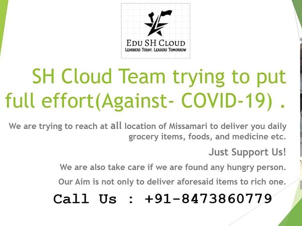 We Stand Against Covid-19 Virus