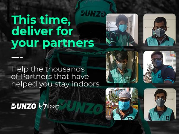 Deliver for Dunzo Partners