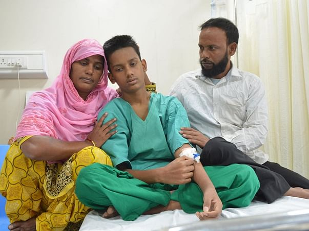 14 Years Old Halim Shaikh Needs Your Help Fight Aplastic Anemia