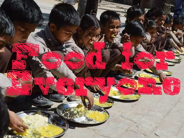 Help to feed every person.