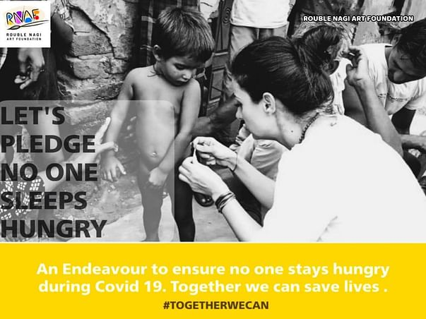 Help RNAF Provide Food To Daily Wagers Slum Dweller During Lockdown