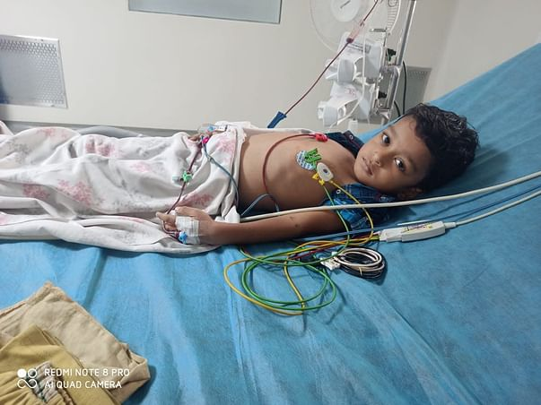 3 Years Old Amrithan Needs Your Help Recover From Acute Lymphoblastic Leukemia