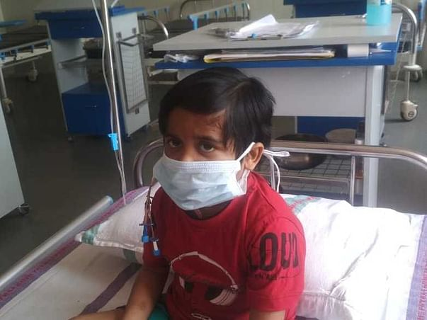 5 years old Rishu needs your help fight Acute lymphoblastic leukemia (all)