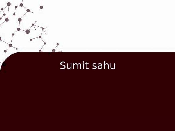 Sumit sahu