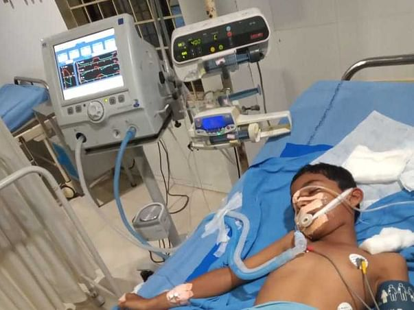 Support K. Venkata Shiva Pavan Recover From Adenoid Hypertrophy