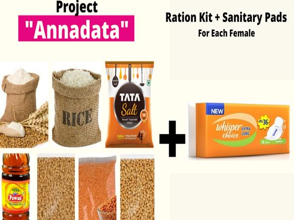 Ration Kits For 500 Daily Wagers' Families