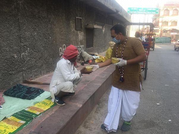 "Donate for ""FOOD FOR LIFE"" for Vrajavasis"