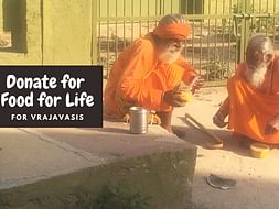 "Donate for ""FOOD FOR LIFE"" for Vrajavasis"