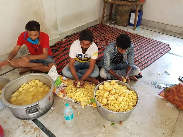 Feeding the poor amidst Nation wide Lock-Down