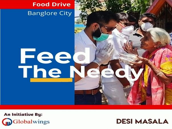 Feed The Needy - Desi Masala Initiative