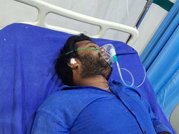 30 Years Old Balakrishna Needs Your Help Fight Head Injury And Neurological Shock (Road Accident)