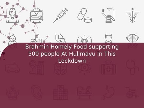 Brahmin Homely Food supporting 500 people At Hulimavu In This Lockdown