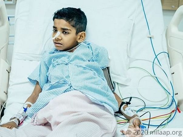 His Tumour Grew 10 Times In Size In One Month, He Needs A  Transplant