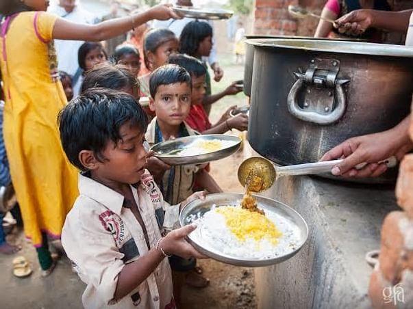 Help hungry people fight with COVID-19
