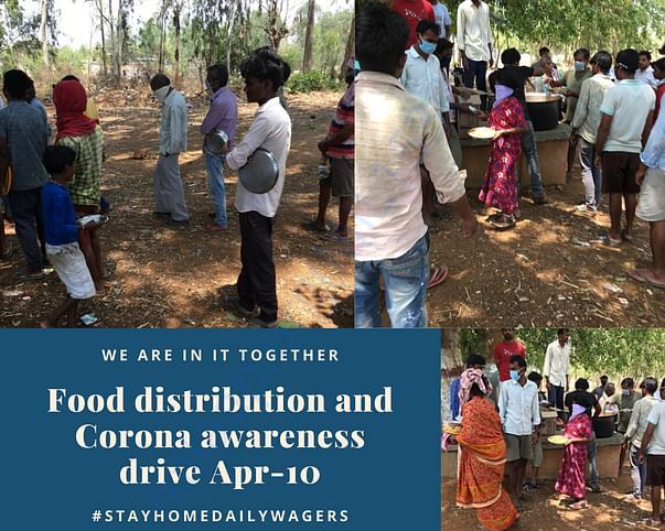 Food Distribution April 10