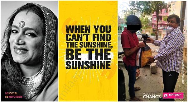Be the sunshine - Corona warriors - Team Kineer