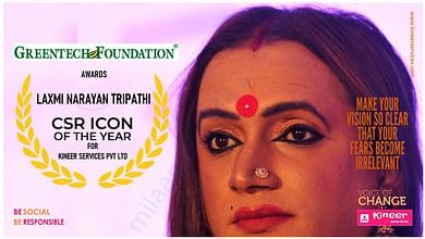 CSR icon of the year - Laxmi Narayan Tripathi