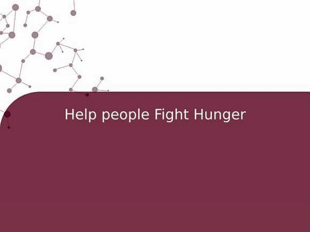 Help people Fight Hunger