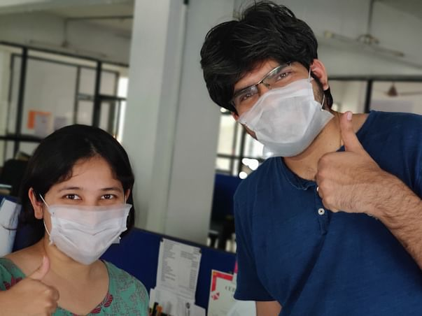 Donating Surgical, UV Treated Masks for 10,000 Frontline Covid Workers