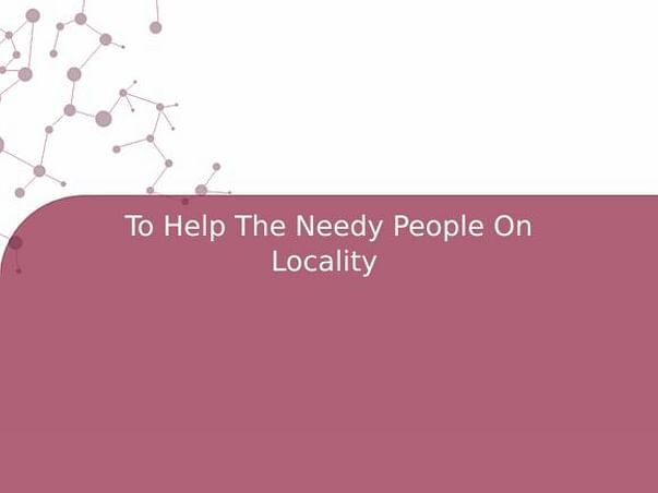 To Help The Needy People During This Pandemic