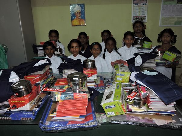 donate for charity to sponsor a girl child education in india