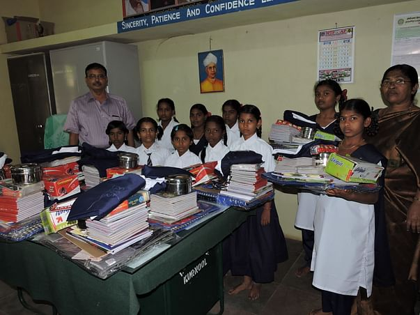 Sponsor needy girl children by donating online to india