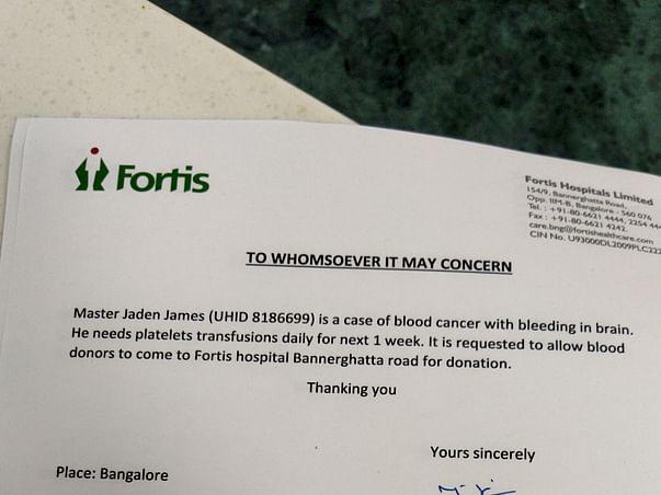 9 Years Old Jaden James Needs Your Help Fight Leukemia (Blood Cancer)