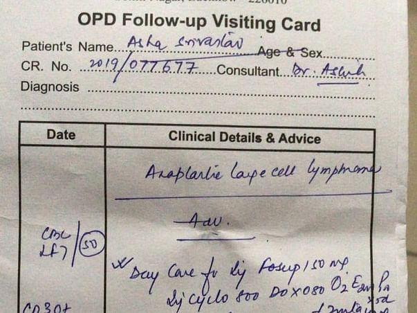 Support Asha Srivastava Recover From Lymphoma