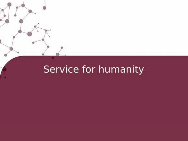 Service for humanity