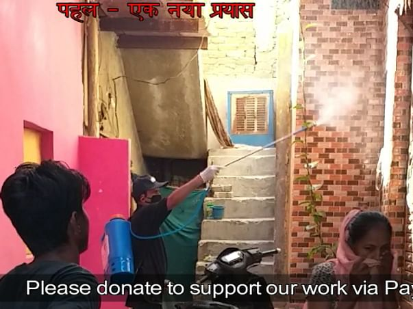 Support us to help Wagers,Slums,Homeless People effected by COVID-19