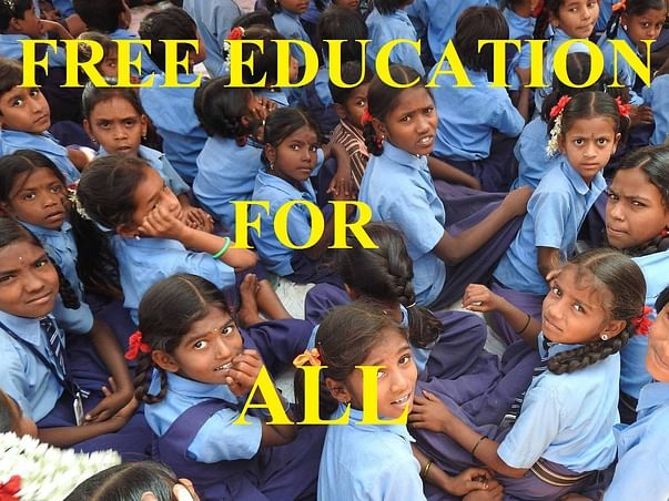 Help Economically backward and home children for Free Education