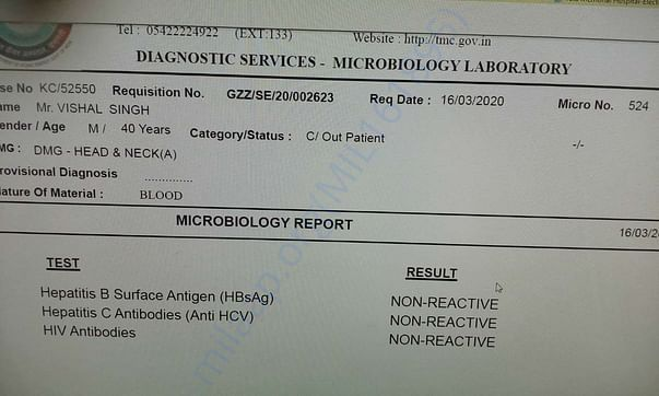 Microbiology Report