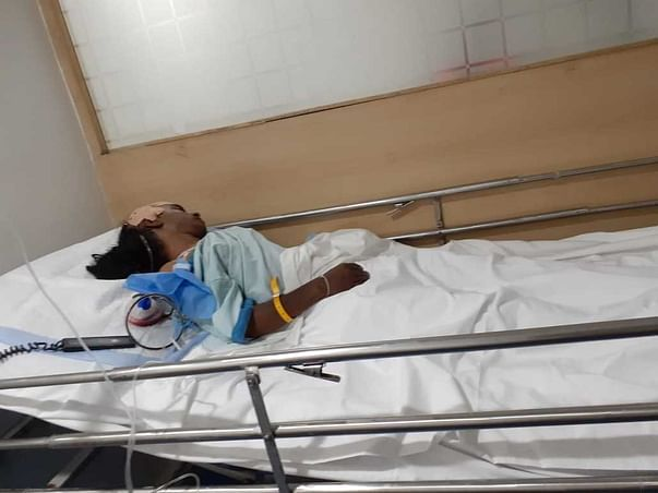 Support Shanthi Recover From Brain Hemorrhage