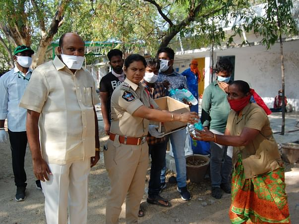 Rashtriya Seva Samithi Fight Against COVID-19 For Rural Communities