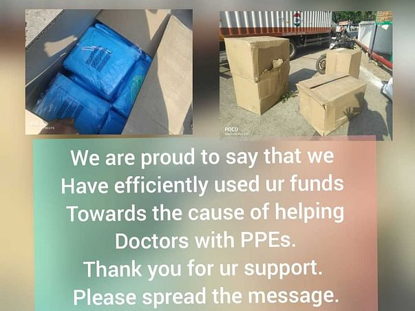 Help Doctors And Health Care Workers With PPE
