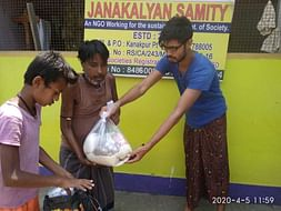 Help me providing relief to the poor suffering due to the lockdown