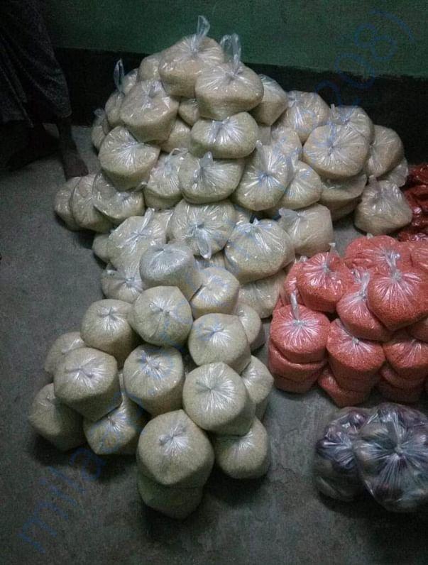 Prepare  food for donate