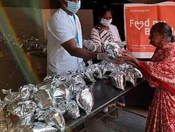 Help us serve the needy with food items during this pandemic