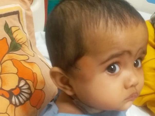 1 year Baby Riya  needs your help to fight BLOOD CANCER ( LUKEMIA)