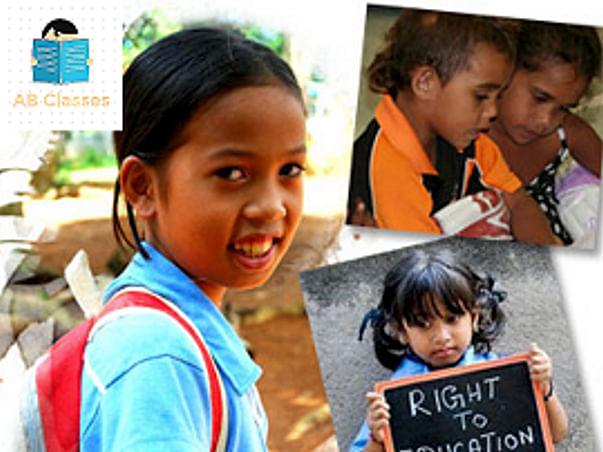 AB Classes -Varanasi, Help for education of under privileged children