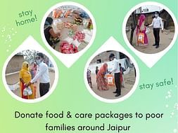 Help Donate Food Packages To Poor Families Due To Covid-19