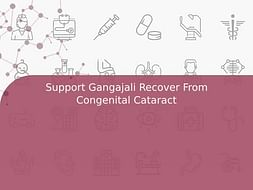 Support Gangajali Recover From Congenital Cataract