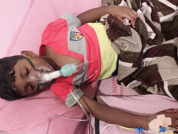 Five Year old Child needs your Contribution for his Urgent Surgery