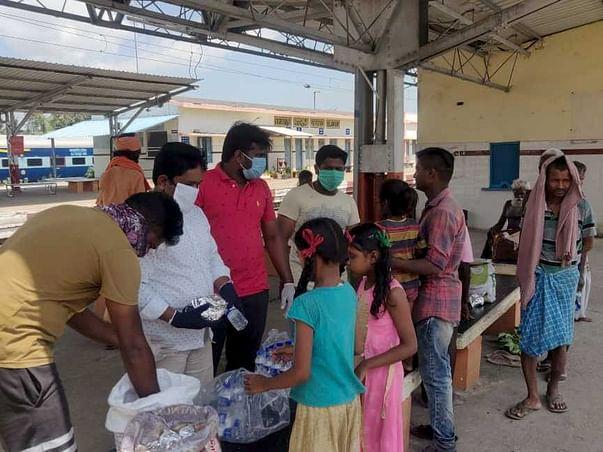 Corona relief - food distribution !!