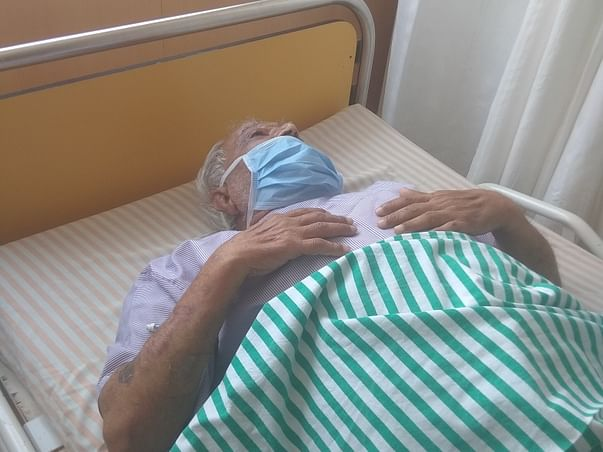 Help my father for speedy recovery