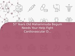 57 Years Old Mahammuda Begum Needs Your Help Fight Cardiovascular Disease